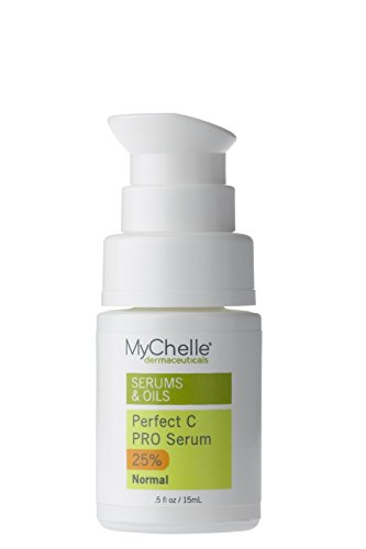 MyChelle Perfect C PRO Serum, Professional-Level 25% L-Ascorbic Acid Vitamin C Serum for All Skin Types, 0.5 fl oz