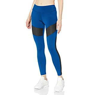 Reebok Workout Ready Mesh Tight, Humble Blue, X-Small
