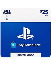 $25 PlayStation Store Gift Card [Digital Code]