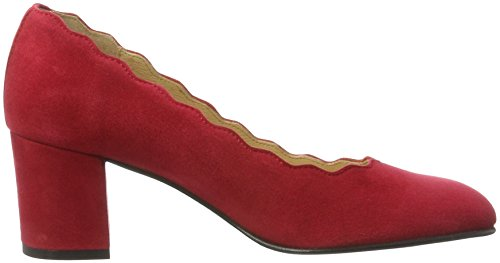 Red KMB Femme Escarpins Rouge Veda Dark w4YqS