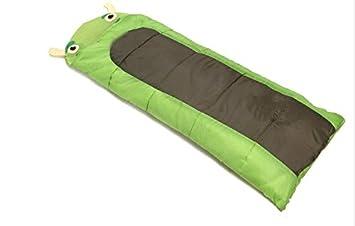 Camping bolsas de dormir, saco de dormir de algodón niños de la historieta del bebé