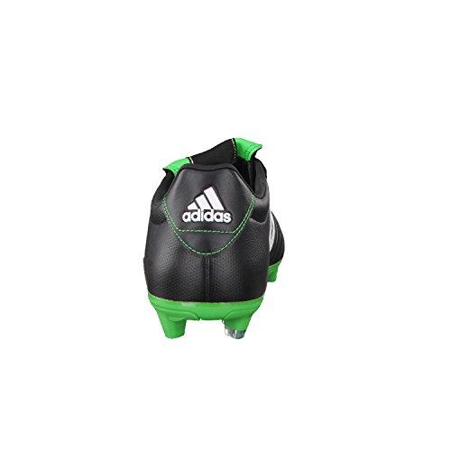 adidas Gloro FG, Scarpe da Calcio da Uomo Nero / Bianco / Verde