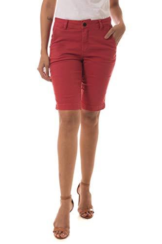 Bermuda Jeans Denuncia Mid Rise Middle Plus Telha 38