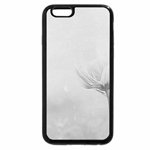 iPhone 6S Case, iPhone 6 Case (Black & White) - fantastic liliac flower garden pink one