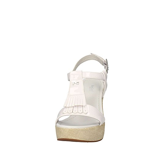 Nero Giardini P717651D-707, Sandales pour Femme Blanc Bianco