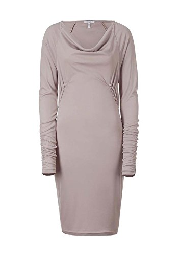 Violett Kleid Damen mit APART Kleid Wasserfallausschnitt Hellmauve BSfwXqndw
