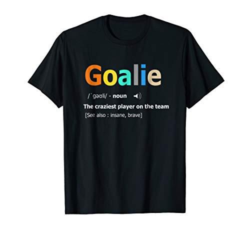 Goalie Gear Shirt Goalkeeper Definition Soccer Hockey ()