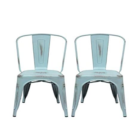 Amazon.com: Aeon Muebles garvin-2 silla apilable – Set de 2 ...