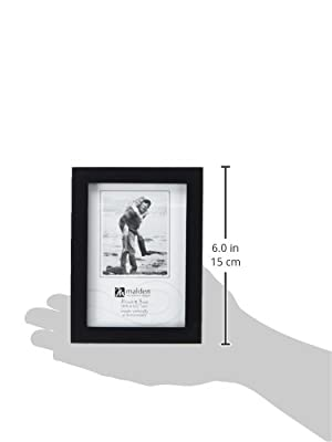 Malden International Designs Classic Concepts Black Wood Picture Frame