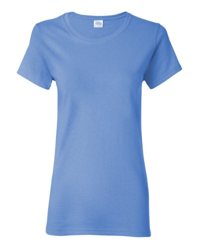 Gildan Heavy Cotton Ladies' T-Shirt, Carolina Blue, Medium - Carolina Blue Jersey T-shirt