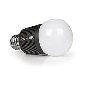 Veho Kasa Bluetooth Smart LED Light Bulb   Smartphone Controlled   Dimmable   Colour Changing   Edison E26   7.5 W (VKB-002-E26) [Energy Class A+]