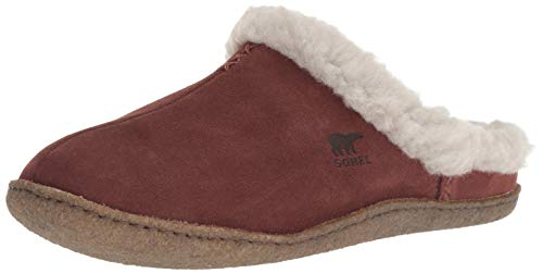 M Slipper Slide Dark Us Stone Women's 9 5 Sorel Nakiska burro wnxfzg7