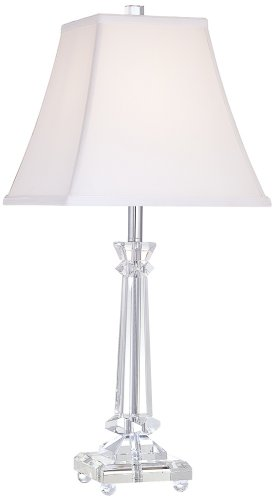 Tapered Crystal Column Lamp by Vienna Full ()