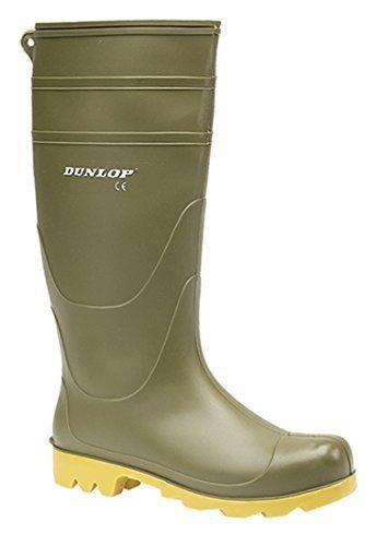 DunloP. - Botas de agua de trabajo hombre<br/>                 , color verde, talla 41.5