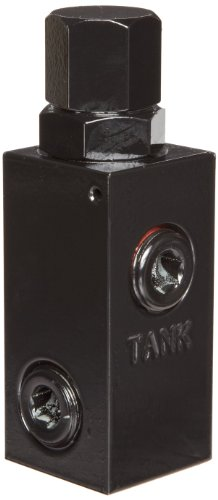 (Prince RD-1850-H Relief Valve, Cast Iron, 2500 psi, 16 gpm, 1/2