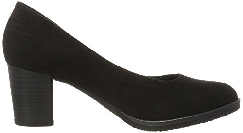 Femme Struct black Marco 22402 Escarpins Tozzi Noir qw7qtY4v