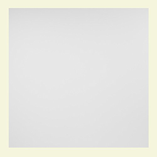 Genesis - Smooth Pro White Ceiling Tile - Drop / Grid Ceiling - Fast and Easy Installation (6' x6' Sample)