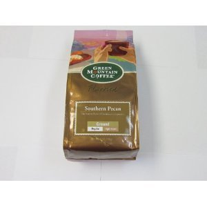 Green Mountain Southern Pecan, Ground Coffee, 12oz. Bag (Pack of 2)