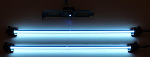 PPCS Luxury Single Braided Cold Cathode Kit V2 - Light Blue Cold Cathode Bulb