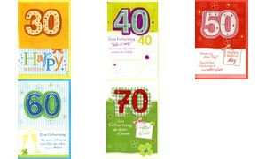HORN Geburtstagskarte   Kreative Gestaltung   50.Geburtstag