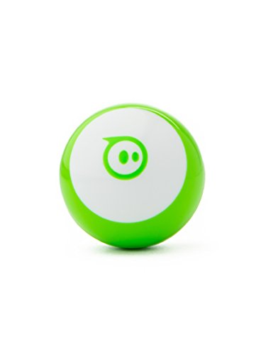 Sphero Mini (Green) App-Enabled Programmable Robot Ball - STEM Educational Toy for Kids Ages 8 & Up - Drive, Game & Code with Sphero Play & Edu App