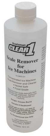 Scotsman Ice Machine Cleaner (Ice Machine Cleaner, 16 oz., Clear, PK12)