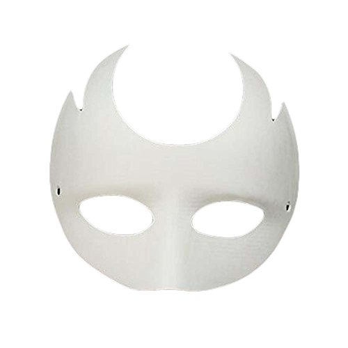Halloween Costume The Purge Diy (10 Pcs White Mask Hand Painted Eye Mask DIY Paper Mask Halloween Costume)
