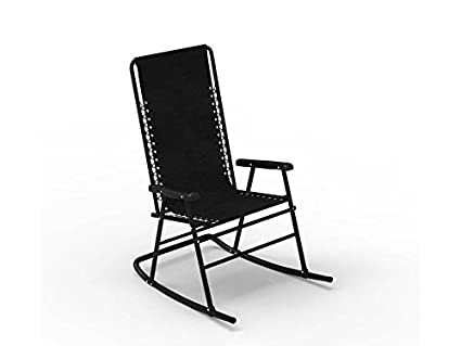 Forzza Amara Outdoor Rocking Chair (Black)