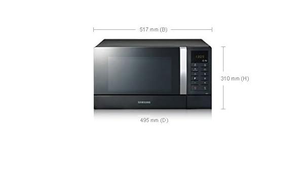 Samsung CE1071, Blanco, 310 x 517 x 510 mm, 19000 g, 352 x 235 x ...