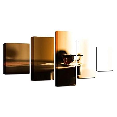 Cuadro 5 piezas Impresiones de alta definición en lienzo Arte de ...