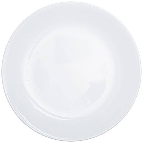 Corelle Livingware Luncheon Plate, Winter Frost White, Size: 8-1/2-Inch, Set of 6 Plates