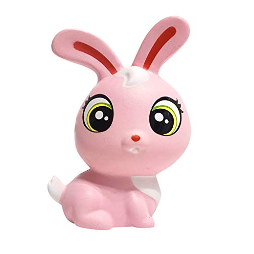 NOMENI Simulation Rabbit Squeeze Decompression Slow Rebound Toy Suitable for All Kinds of Crowds Look Cute