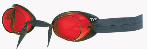 (TYR Socket Rockets 2.0 Racing Goggle (Red/Black))