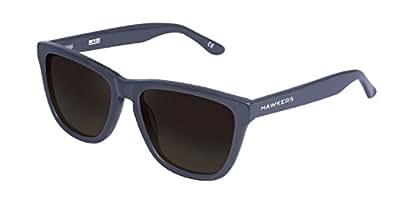 Hawkers Men's Diamond Grey Dark One X OX28 Rectangular Sunglasses, Black, 12 mm
