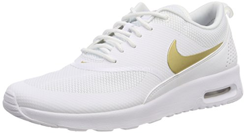 Max white J Air Nike Thea metallic Gold 100 Donna Running Multicolore Scarpe Wmns ZUzqE