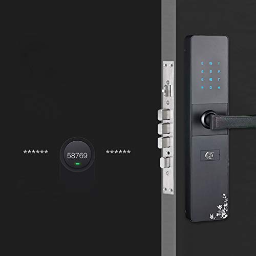 BLWX - Smart Door Lock - Zinc Alloy - B&B Password Lock Apartment Lock Apartment Password Lock Apartment Smart Lock Rental Room Door Lock Hotel Door Lock Card Lock - Size: 36x8cm Door Lock by BLWX-home renovation. Door lock (Image #6)