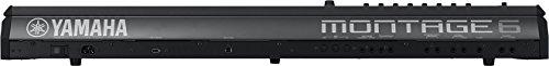 Yamaha Montage6 61-key Synthesizer Workstation, Black