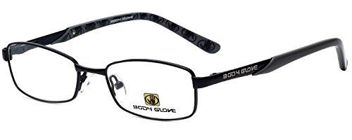 Body Glove Designer Eyeglass Frame BB117 in Black 49mm KIDS SIZE ()