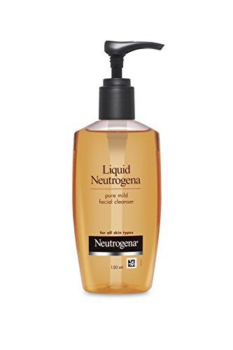 Liquid Neutrogena Pure Mild Facial Cleanser Pump :150ml