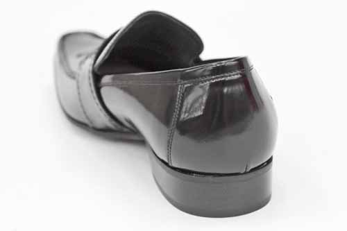 Jeffery West Black Line G0350A - Mocassins de ville hommes - cuir