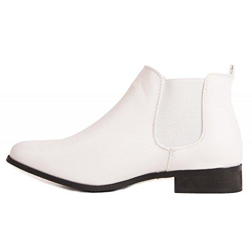 Boots Chelsea Femme Chelsea Boots Basse avec 8H1q08w