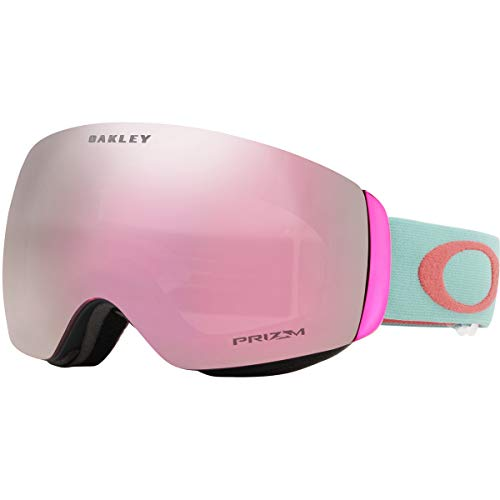 Oakley Flight Deck Asian Fit Snow Goggle, Arctic Surf Coral, Medium