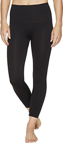 Spanx Control Pants - SPANX Look at Me Now Medium Control Cropped Leggings, M, Black