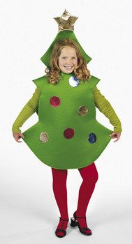 Christmas Tree Child Costume