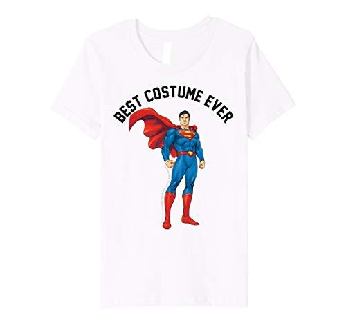 Kids DC Comics Superman Best Costume Ever Text Poster Premium T-Shirt
