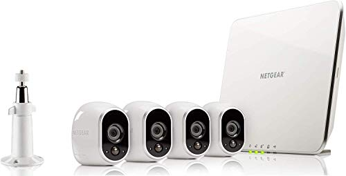 Arlo Security System - 4 Wire-Free HD Cameras, Indoor/Outdoor, Night Vision