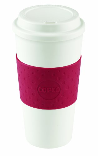 Copco Acadia Travel Mug, 16-Ounce, Cherry Red by Copco