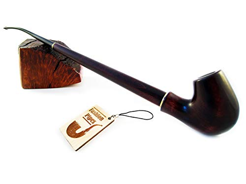 Churchwarden Tobacco Pipes of Pear Root, Wood Pipe