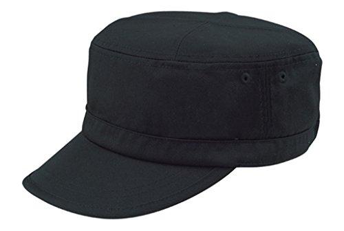 G Men's Basic GI Cadet BDU Army Adjustable Cap (Black)
