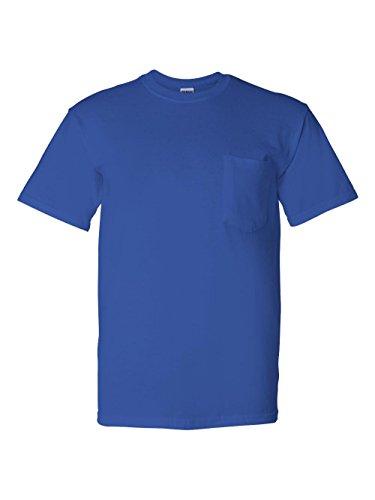 Gildan - DryBlend 50/50 T-Shirt with a Pocket - (50% Polyester Pocket T-shirt)